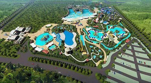 自贡梦幻海螺湾水世界开园试营业,10余个项目可供游玩