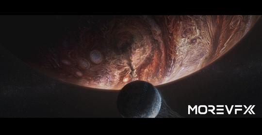 《流浪地球》全片共2003个特效镜头,影片中恢弘壮丽又细腻真实的特效