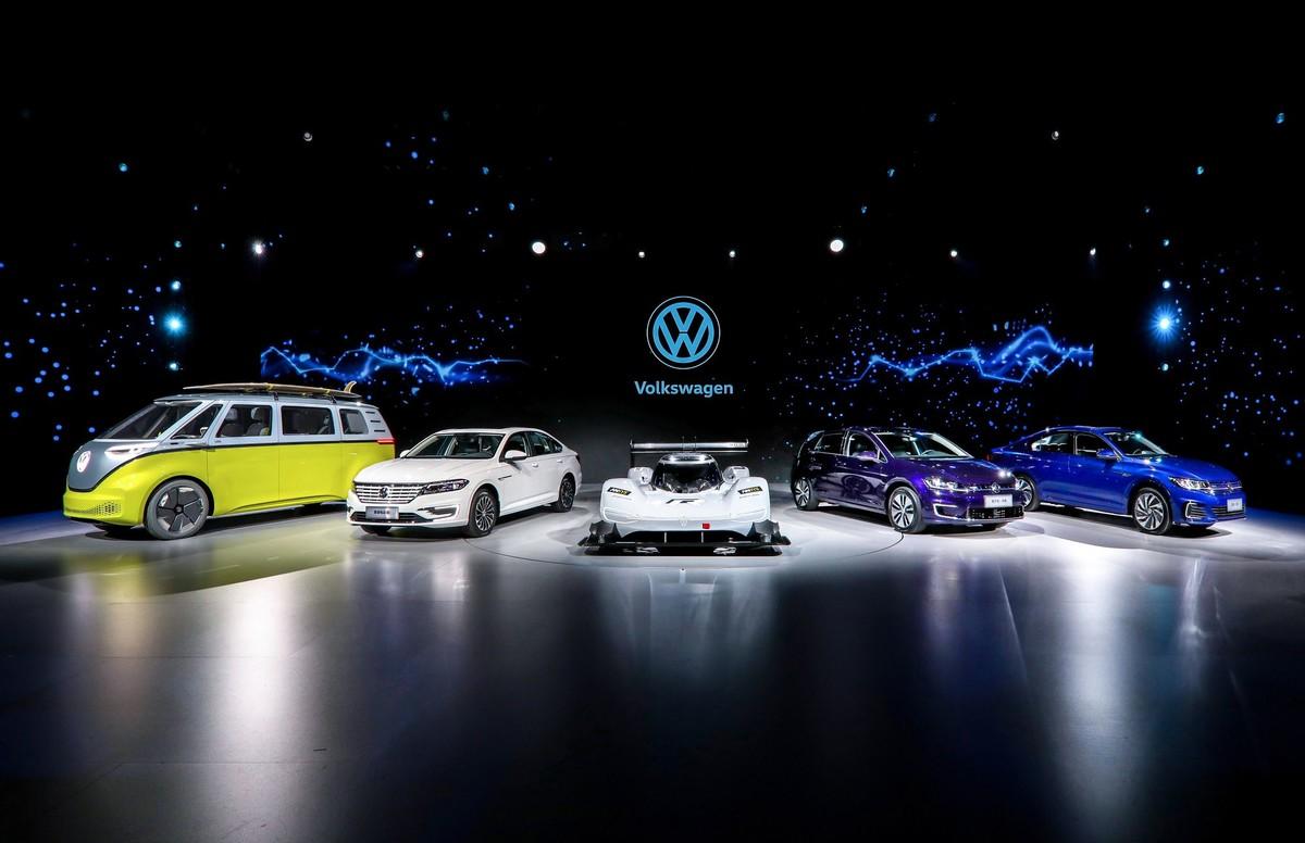 大众汽车三款专为中国打造的崭新纯电动车型 有什么特点?