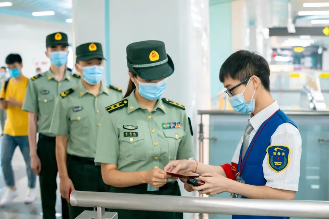 6月30日起,现役军人持有效证件可免费乘坐成都
