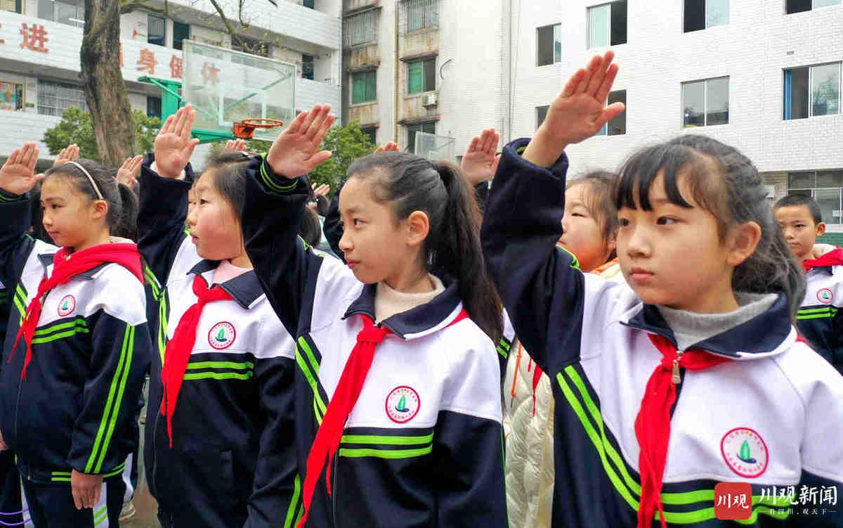 仁寿:义务教育学校开学啦!
